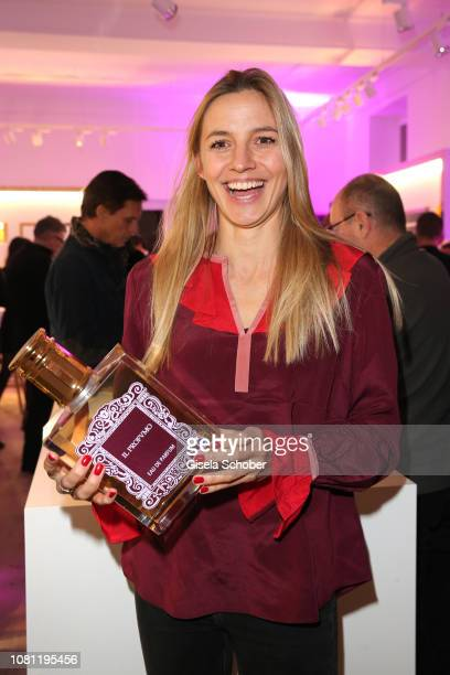 Annika Blendl during the La Maison Valmont opening on January 11 2019 in Munich Germany