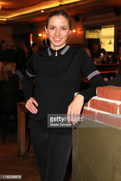 Annika Blendl during the NdF after work press cocktail at Parkcafe on March 13 2019 in Munich Germany