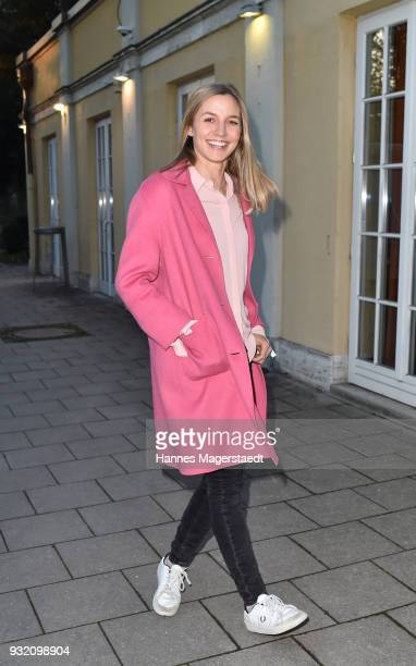 Annika Blendl during the NdF after work press cocktail at Parkcafe on March 14 2018 in Munich Germany
