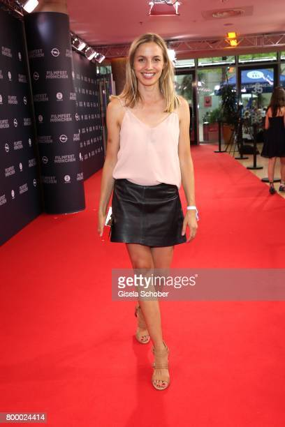 Annika Blendl during the opening night of the Munich Film Festival 2017 at Mathaeser Filmpalast on June 22 2017 in Munich Germany