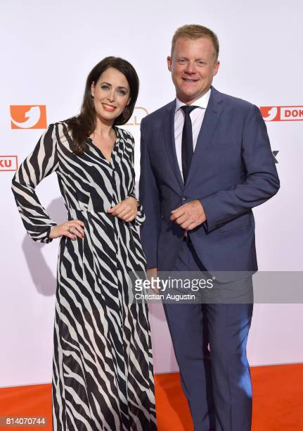 Annika de Buhr and Marc Bator attend the program presentation of the television channel ProSiebenSat1 on July 13 2017 in Hamburg Germany