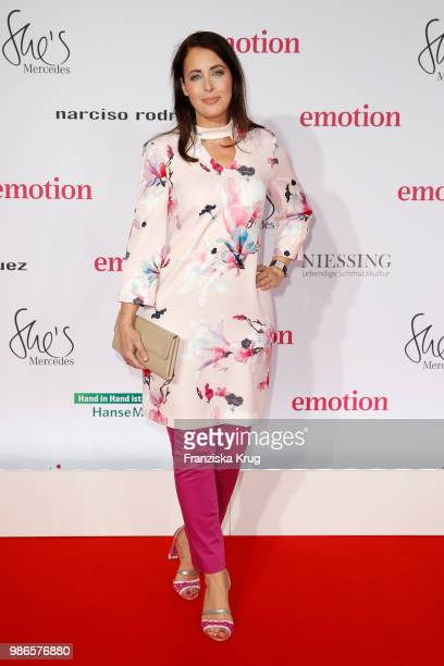 Annika de Buhr attends the Emotion Award at Curiohaus on June 28 2018 in Hamburg Germany