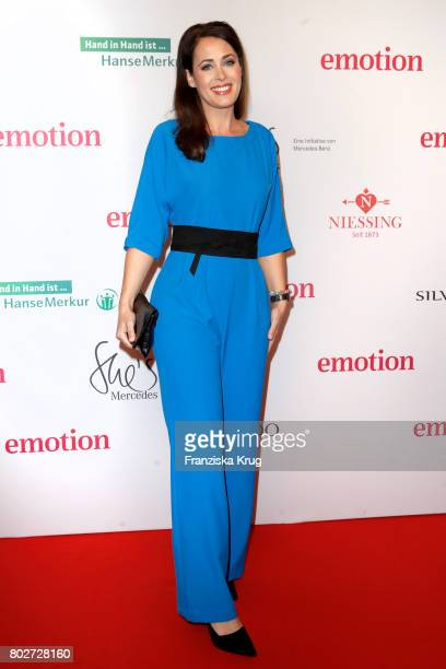 Annika de Buhr attends the Emotion Award at Laeiszhalle on June 28 2017 in Hamburg Germany