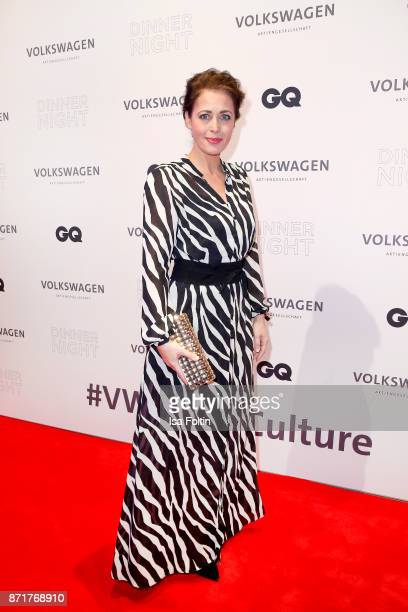 Annika de Buhr attends the Volkswagen Dinner Night prior to the GQ Men of the Year Award 2017 on November 8 2017 in Berlin Germany