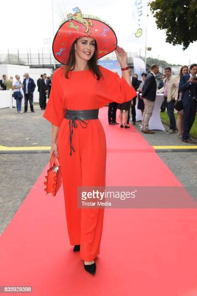 Annika de Buhr during the Audi Ascot Race Day 2017 on August 20 2017 in Hanover Germany