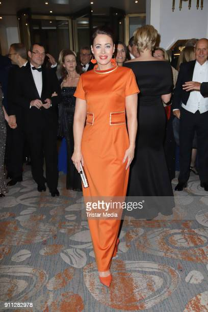 Annika de Buhr during the press ball Hamburg at Hotel Atlantik on January 27 2018 in Hamburg Germany