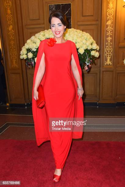Annika de Buhr during the Semper Opera Ball 2017 at Semperoper on February 3 2017 in Dresden Germany
