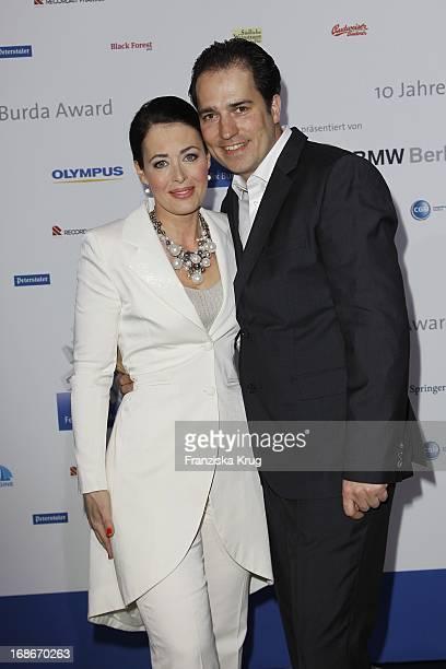 Annika De Buhr With Jan Wide Village's 10th Anniversary Of The Felix Burda Award Hotel Adlon in Berlin