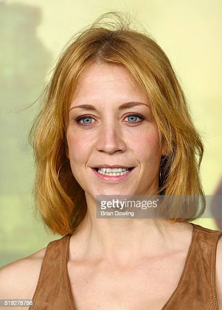 Annika Ernst arrives at Disney's 'The Jungle Book' premiere at the Zoo Palast on April 5, 2016 in Berlin, Germany.