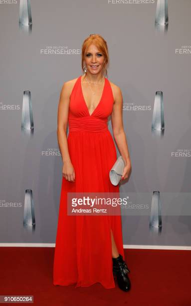 Annika Ernst attends the German Television Award at Palladium on January 26 2018 in Cologne Germany