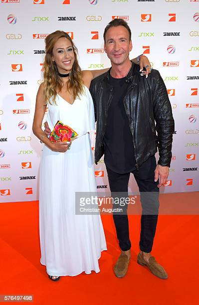 Annika Ernst attends the photo call for the 2016 programme presentation of TV broadcasters ProSiebenSat1 Media at Cinemaxx Dammtor on July 13, 2016...