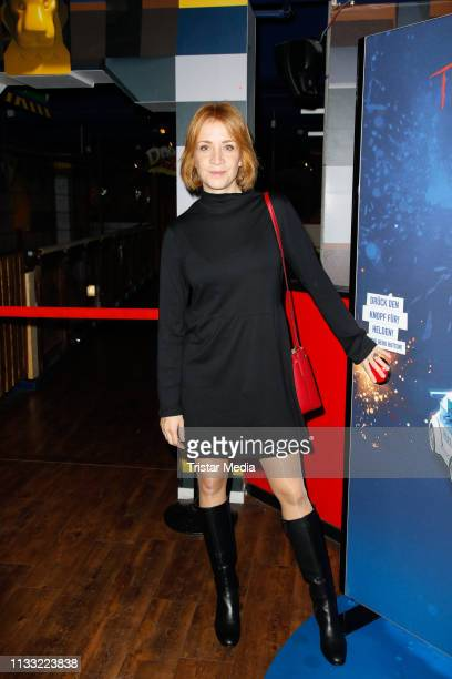 Annika Ernst attends the premiere of the film LEGO City Cops In Action at LEGOLAND Discovery Center Berlin on March 27 2019 in Berlin Germany