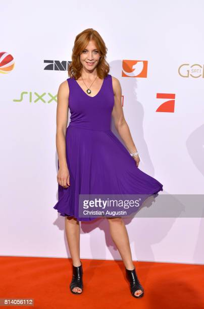 Annika Ernst attends the program presentation of the television channel ProSiebenSat1 on July 13 2017 in Hamburg Germany