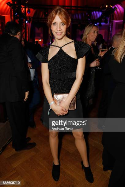Annika Ernst dressed in Karl Lagerfeld attends the German Television Award at Rheinterrasse on February 2 2017 in Duesseldorf Germany