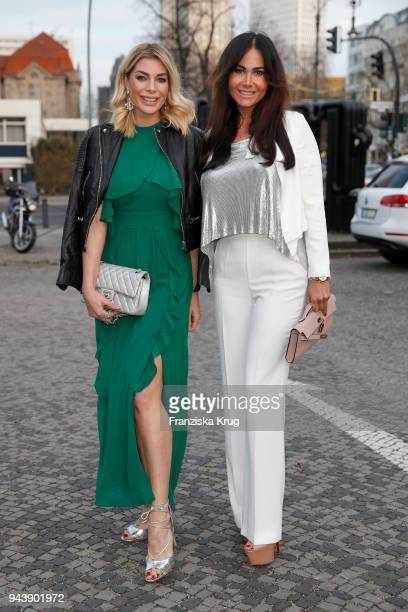 Annika Gassner and Rafaella White attend the Victress Awards gala on April 9 2018 in Berlin Germany