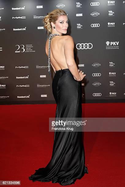 Annika Gassner arrives at the 23rd Opera Gala at Deutsche Oper Berlin on November 5 2016 in Berlin Germany