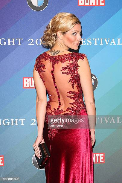 Annika Gassner attends the Bunte BMW Festival Night 2015 on February 06 2015 in Berlin Germany