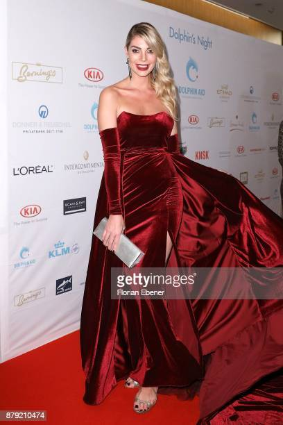 Annika Gassner attends the charity event Dolphin's Night at InterContinental Hotel on November 25 2017 in Duesseldorf Germany