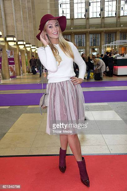 Annika Gassner attends the COSMETICA Newcomer Artist 2016 on November 5, 2016 in Berlin, Germany.