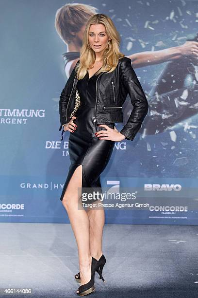 Annika Gassner attends the German Premiere of 'Die Bestimmung - Insurgent' at CineStar on March 13, 2015 in Berlin, Germany.