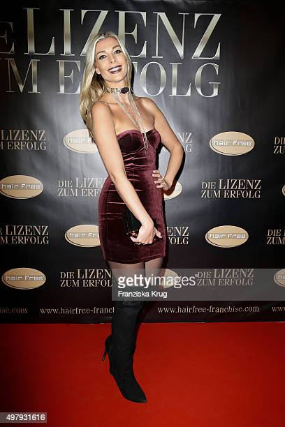 Annika Gassner attends the Hairfree Hosts 'Die Lizenz zum Erfolg' Event on November 19, 2015 in Berlin, Germany.