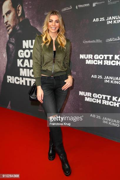 Annika Gassner attends the 'Nur Gott kann mich richten' Screening at Cubix Alexanderplatz on January 25, 2018 in Berlin, Germany.