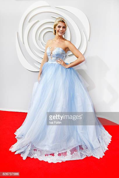 Annika Gassner attends the Rosenball 2016 on April 30, 2016 in Berlin, Germany.