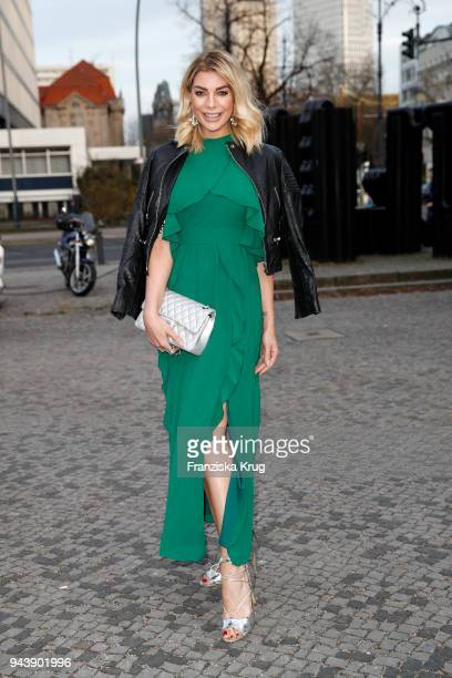 Annika Gassner attends the Victress Awards gala on April 9, 2018 in Berlin, Germany.