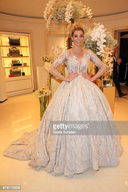 Annika Gassner during the 66th 'Bundespresseball' at Hotel Adlon on November 24 2017 in Berlin Germany