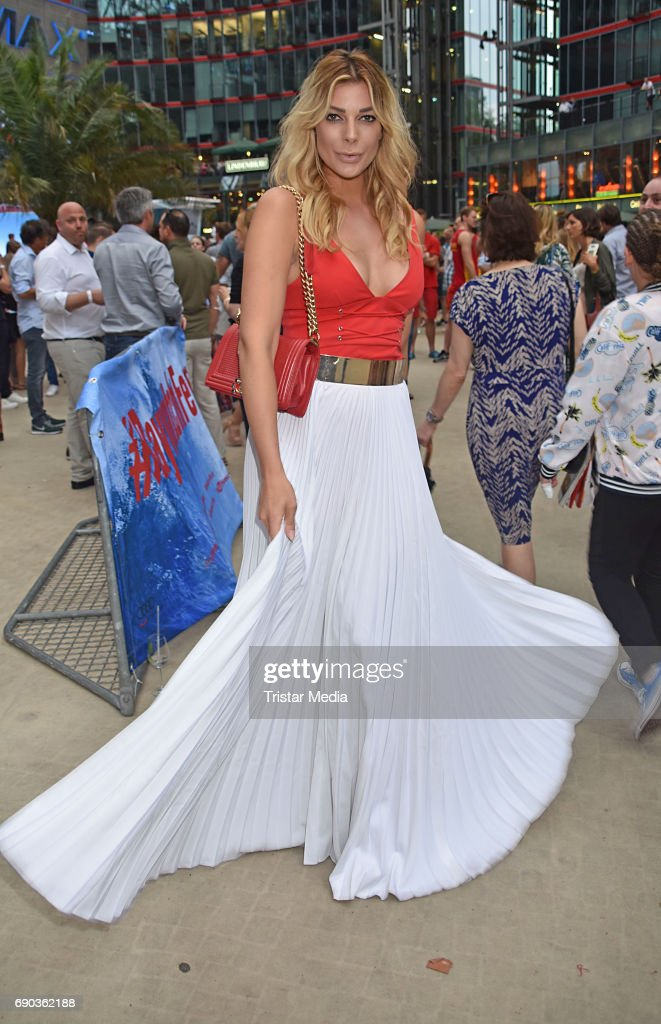 Annika Gassner during the Baywatch European Premiere Party on May 31, 2017 in Berlin, Germany.
