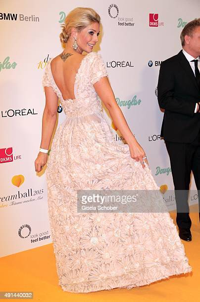 Annika Gassner during the Dreamball 2015 at Ritz Carlton on September 10 2015 in Berlin Germany