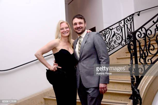 Annika Howe and Ryan Vanter attend Alexei Jawlensky Opening Reception at the Neue Galerie at 1048 5th Ave on February 15 2017 in New York City