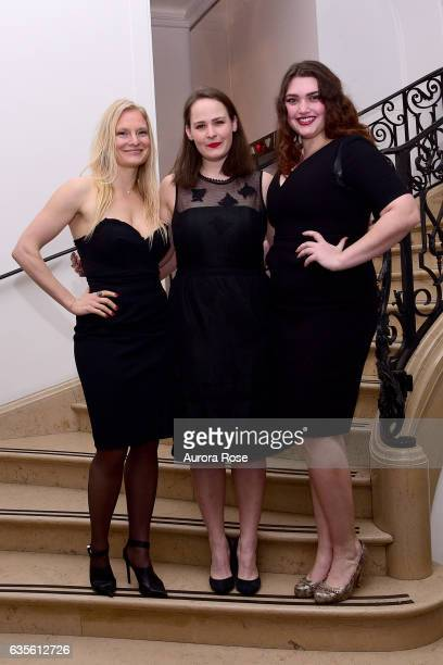 Annika Howe LeeAna Wolfman and Lane Brenner attend Alexei Jawlensky Opening Reception at the Neue Galerie at 1048 5th Ave on February 15 2017 in New...