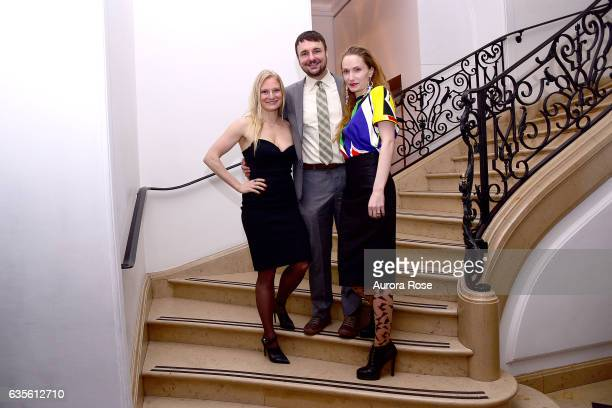 Annika Howe Ryan Vanter and Brynne Rinderknecht attend Alexei Jawlensky Opening Reception at the Neue Galerie at 1048 5th Ave on February 15 2017 in...
