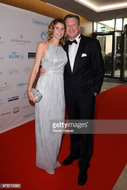 Annika Keller and Christian Keller attend the charity event Dolphin's Night at InterContinental Hotel on November 25 2017 in Duesseldorf Germany
