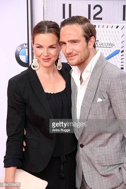 Annika Kipp and Frederick Lau attend the Lola German Film Award on May 27 2016 in Berlin Germany