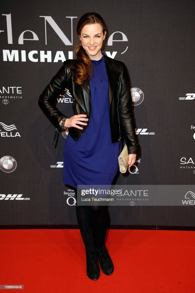 Annika Kipp attends Michalsky Style Nite Arrivals - Mercedes-Benz Fashion Week Autumn/Winter 2013/14 at Tempodrom on January 18, 2013 in Berlin, Germany.