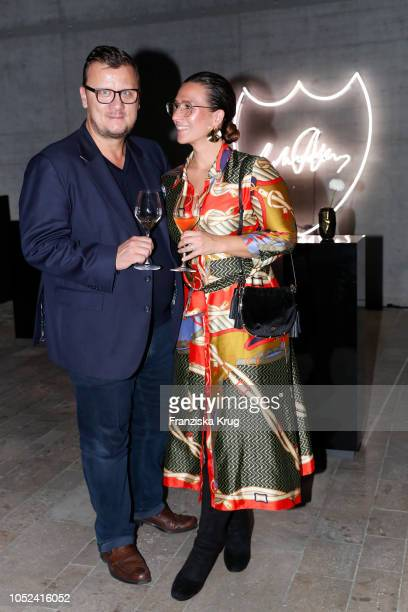 Annika Koch and Torsten Koch attend the Dom Perignon 'The Legacy' on October 17 2018 in Munich Germany