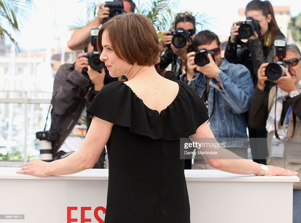 Annika Kuhl attends the photocall for 'Tore Tantz' at The 66th Annual Cannes Film Festival at Palais des Festival on May 23, 2013 in Cannes, France.