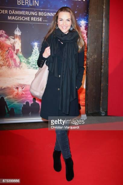 Annika Lau attends the the opening of the Christmas Garden Berlin at Botanischer Garten on November 17 2017 in Berlin Germany