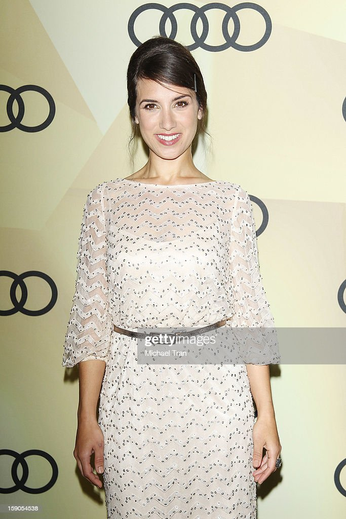 Annika Marks arrives at the Audi Golden Globe 2013 kick off cocktail party held at Cecconi's Restaurant on January 6, 2013 in Los Angeles, California.