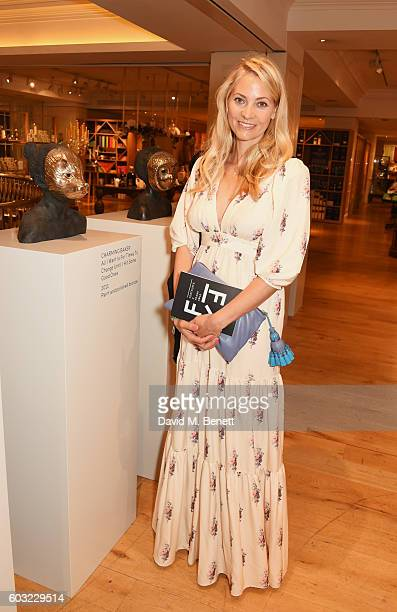Annika Murjahn attends the launch of Fortnum's X Frank at Fortnum Mason on September 12 2016 in London United Kingdom This free exhibition showcases...