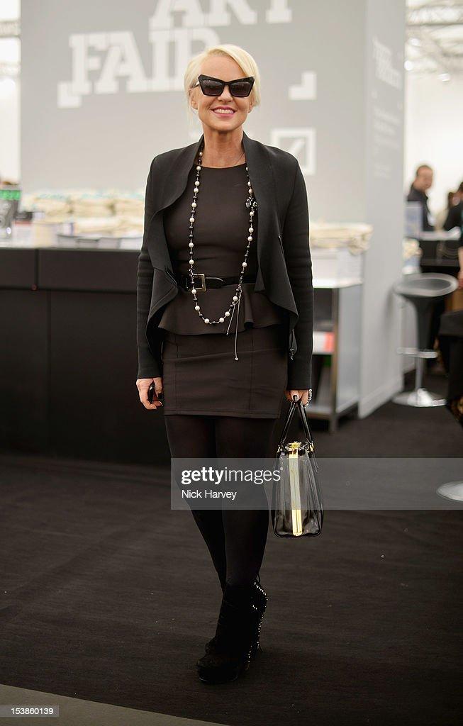 Annika Murjahn attends the VIP preview of Frieze Art Fair