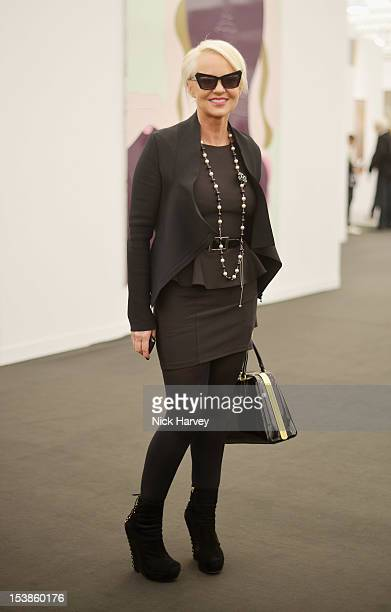 Annika Murjahn attends the VIP preview of Frieze Art Fair on October 10 2012 in London England
