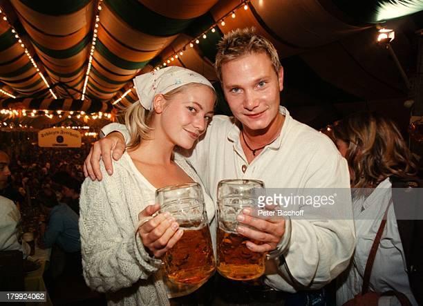 Annika Murjahn Fabian Harloff'BavariaFilmEmpfang' MünchenSchützenFesthalle Oktoberfest 99