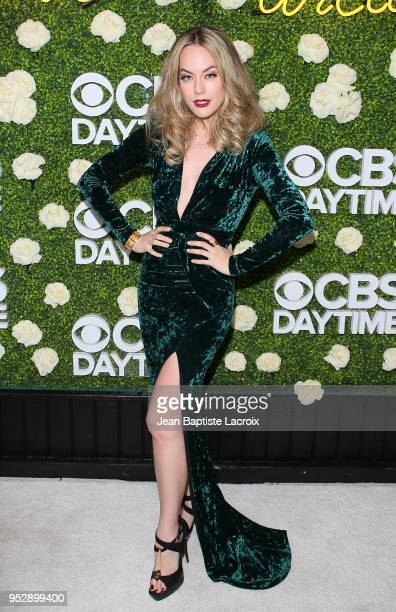 Annika Noelle attends the CBS Daytime Emmy After Party on April 29 2018 in Pasadena California