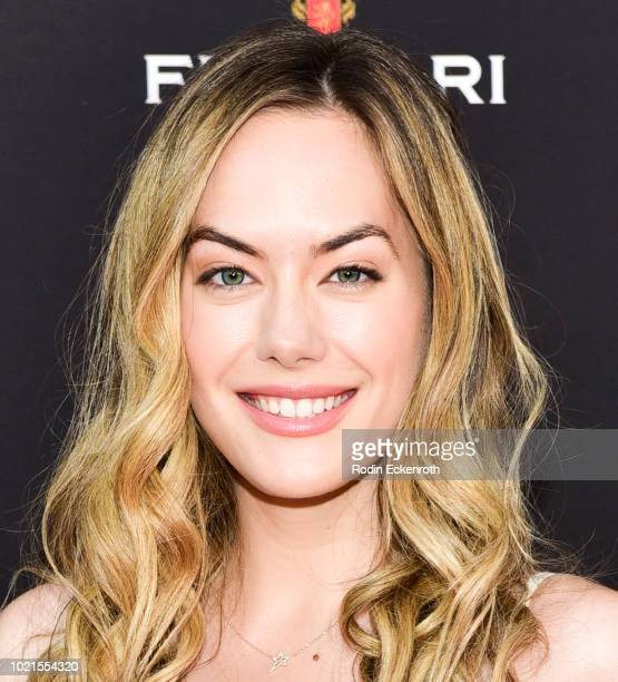 Annika Noelle attends the Television Academy's Daytime Programming Peer Group Reception at Saban Media Center on August 22 2018 in North Hollywood...