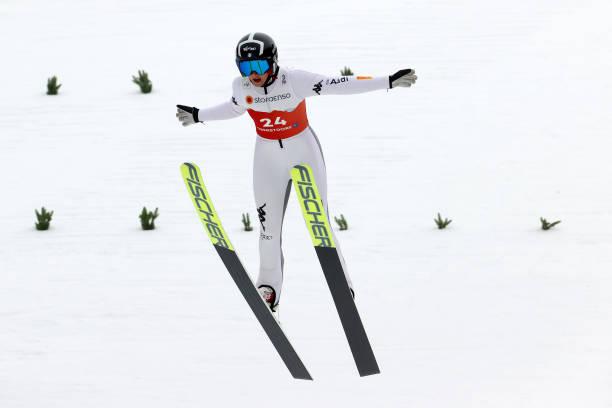 DEU: FIS Nordic World Ski Championships Oberstdorf - Women's Nordic Combined Gundersen Normal Hill HS106/5.0 Km