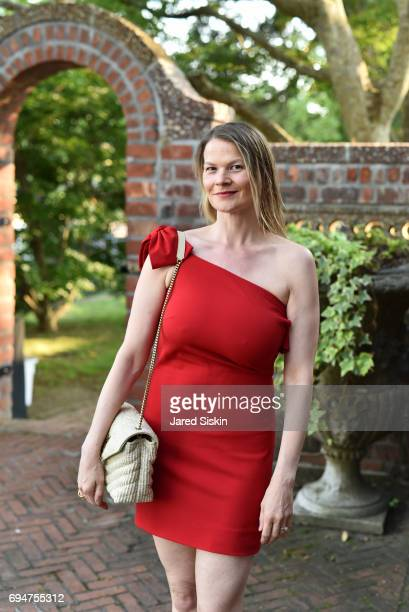 Annika Smith attends the 21st Annual Hamptons Heart Ball at Southampton Arts Center on June 10 2017 in Southampton New York