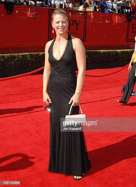 Annika Sorenstam during 2005 ESPY Awards Arrivals at Kodak Theatre in Hollywood California United States